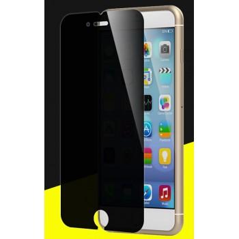 Антишпионское износоустойчивое сколостойкое олеофобное защитное стекло-пленка для Iphone 7 Plus
