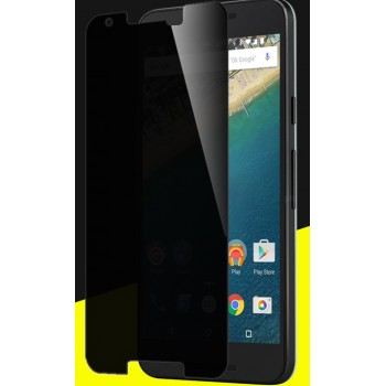 Антишпионское износоустойчивое сколостойкое олеофобное защитное стекло-пленка для Google LG Nexus 5X