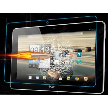 Ультратонкое износоустойчивое сколостойкое олеофобное защитное стекло-пленка для Acer Iconia Tab 10 A3-A20