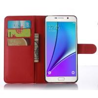 Чехол портмоне подставка с защелкой для Samsung Galaxy A5 (2016) Красный