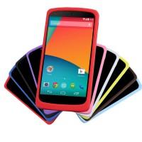 Премиум софт-тач силиконовый чехол для Google Nexus 5