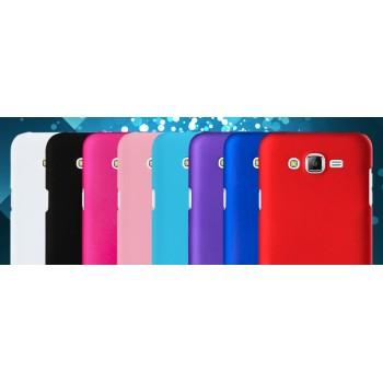 Пластиковый матовый непрозрачный чехол для Samsung Galaxy J5