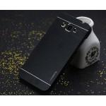 Антиударный гибридный пластиковый чехол с металлической крышкой для Samsung Galaxy J5