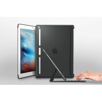 Двухкомпонентный противоударный премиум чехол накладка силикон/поликарбонат совместимый со Smart Keyboard для Ipad Pro