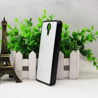 Пластиковый матовый непрозрачный чехол с клеевой алюминиевой крышкой для Micromax Canvas Xpress 2