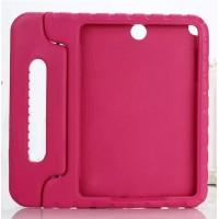 Ударостойкий детский силиконовый гиппоалергенный чехол с подставкой для Samsung Galaxy Tab A 9.7 Розовый