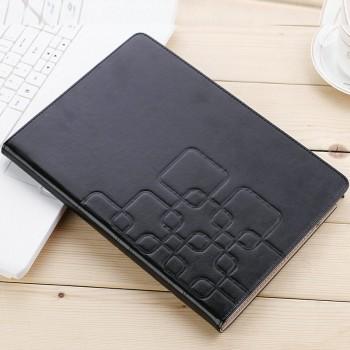 Чехол книжка подставка текстура Узоры на поликарбонатной основе с отделениями для карт для Samsung Galaxy Tab A 9.7