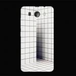 Силиконовый матовый дизайнерский чехол с принтом для Phicomm Clue 630