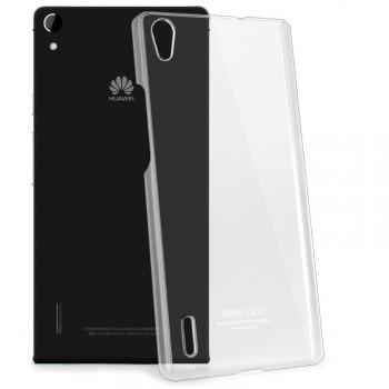 Пластиковый транспарентный чехол для Huawei Ascend P7