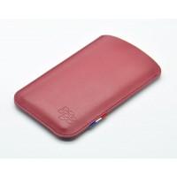 Кожаный мешок для Blackberry Priv Красный