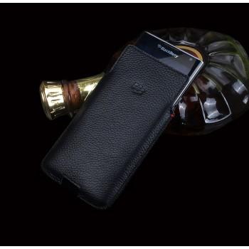 Кожаный мешок (нат. кожа) для Blackberry Priv