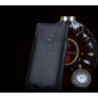 Кожаный вощеный мешок (нат. кожа) для Blackberry Priv