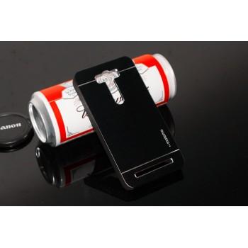Пластиковый чехол с металлическим покрытием для ASUS Zenfone 2 Laser 5 ZE500KL
