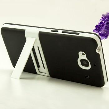 Двухкомпонентный силиконовый чехол с пластиковым бампером-подставкой для Xiaomi RedMi 2