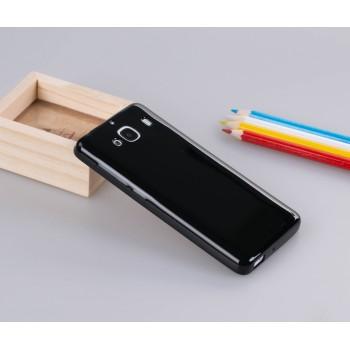 Силиконовый глянцевый непрозрачный чехол для Xiaomi RedMi 2