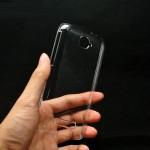 Пластиковый транспарентный чехол для Alcatel One Touch Pop C7 (7040d,7041x)