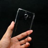 Пластиковый транспарентный чехол для Sony Xperia ZL