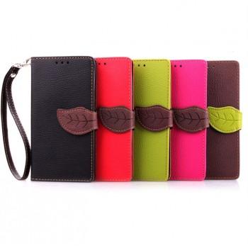 Текстурный чехол портмоне подставка с дизайнерской застежкой для Samsung Galaxy A3