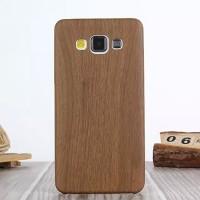 Силиконовый матовый непрозрачный текстура Дерево чехол для Samsung Galaxy A3