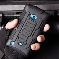 Антиударный силиконовый чехол экстрим защита с подставкой для Nokia Lumia 720