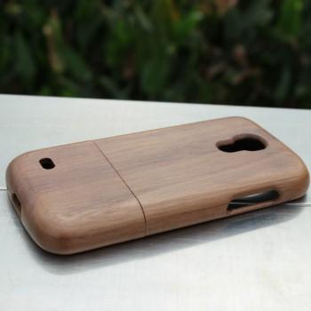 Деревянный разборный чехол для Samsung Galaxy S4 Mini