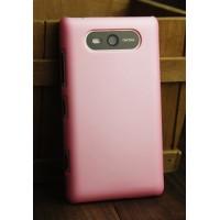 Пластиковый матовый металлик чехол для Nokia Lumia 820