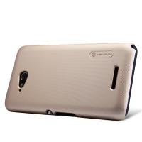 Пластиковый матовый нескользящий премиум чехол для Sony Xperia E4g
