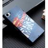 Силиконовый матовый дизайнерский чехол с эксклюзивной серией принтов для Sony Xperia Z5 Compact