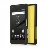 Металлический бампер для Sony Xperia Z5 Compact Черный