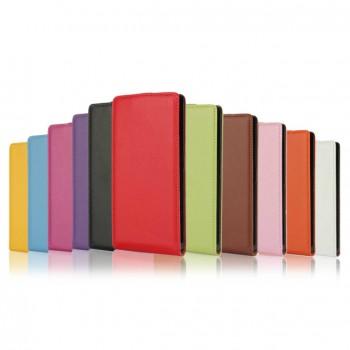 Чехол вертикальная книжка на пластиковой основе с магнитной застежкой для Sony Xperia Z5 Compact