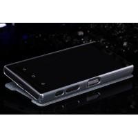 Чехол флип на пластиковой нескользящей премиум основе для Sony Xperia Z5 Compact Черный