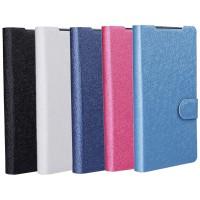 Текстурный чехол флип подставка на пластиковой основе с отделением для карт для Sony Xperia Z5 Compact