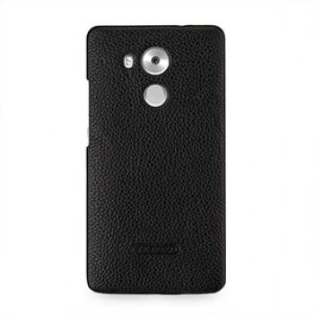 Кожаный чехол накладка (нат. кожа) для Huawei Mate 8