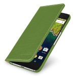 Кожаный чехол портмоне (нат. кожа) для Google Huawei Nexus 6P