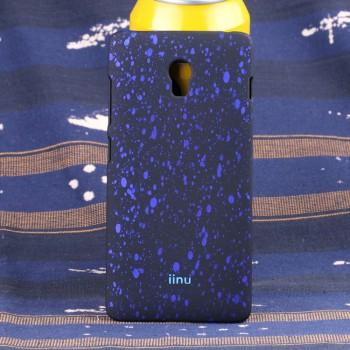 Пластиковый матовый дизайнерский чехол с голографическим принтом Звезды для Lenovo Vibe P1
