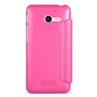 Тонкий чехол флип для ASUS Zenfone 4 (A400CG) Розовый