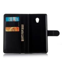 Чехол портмоне подставка с защелкой для Lenovo Vibe P1 Черный