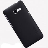 Пластиковый матовый премиум чехол для ASUS Zenfone 4 (A400CG) Черный