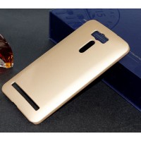 Пластиковый матовый металлик чехол для ASUS ZenFone 2 Laser 6