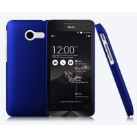 Пластиковый чехол серия Metallic для ASUS Zenfone 4 (A400CG) Синий
