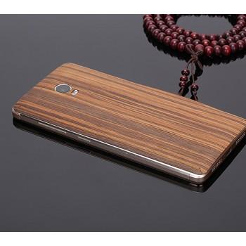 Клеевая натуральная деревянная накладка для Lenovo Vibe P1