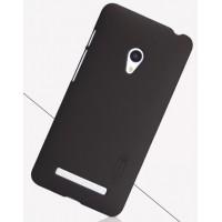 Премиум матовый пластиковый чехол для ASUS Zenfone 5 Коричневый