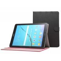 Чехол книжка подставка на поликарбонатной основе с магнитной защелкой для Samsung Galaxy Tab S2 8.0 Черный