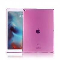 Силиконовый полупрозрачный чехол для Ipad Pro Розовый