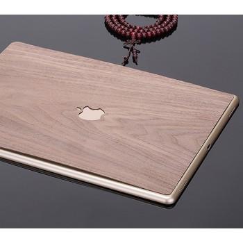 Клеевая натуральная деревянная накладка для планшета Ipad Pro