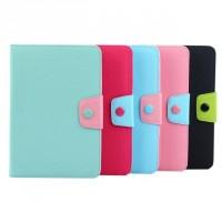 Чехол книжка подставка на силиконовой основе с отделениями для карт и магнитной защелкой для Samsung Galaxy Tab S2 8.0