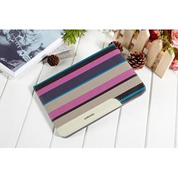 Чехол книжка подставка с рамочной защитой экрана, с полноповерхностным принтом, отделениями для карт и поддержкой кисти для Samsung Galaxy Tab S2 8.0