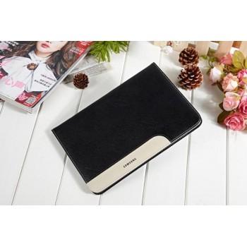 Глянцевый водоотталкивающий чехол книжка подставка с рамочной защитой экрана, с отделениями для карт и поддержкой кисти для Samsung Galaxy Tab S2 8.0