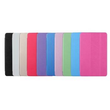 Сегментарный чехол книжка подставка на поликарбонатной транспарентной основе для Samsung Galaxy Tab S2 9.7