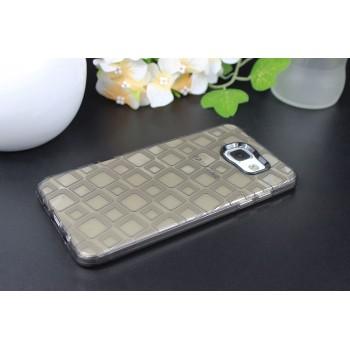 Дизайнерский силиконовый матовый полупрозрачный чехол для Samsung Galaxy A7 (2016)